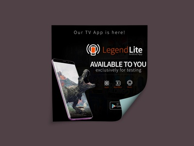 eFlyer - Legend Lite TV App
