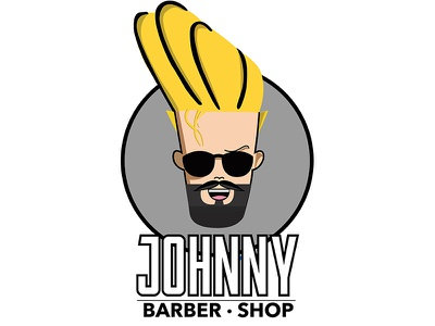 Barber Concept Johnny creative colombia bogota man subject barberia design