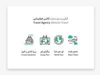 Travel Agency Website – Iconset