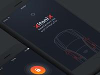 Smart Car Alarm Application – UI