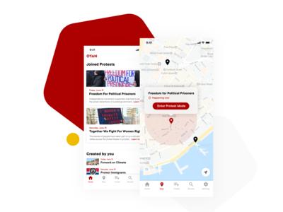 OYAN – Platform for protestors to keep each other safe