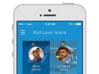 Australian Open 2014 app
