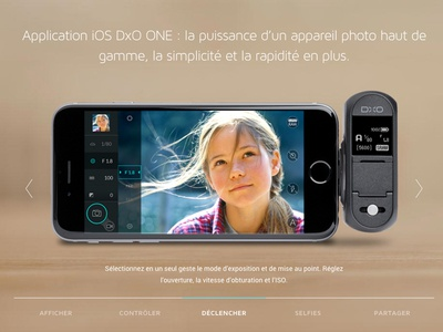 Dxo One App dxo one iphone connected photography interface app camera dxo