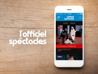 L'officiel des Spectacles - Appli iPhone