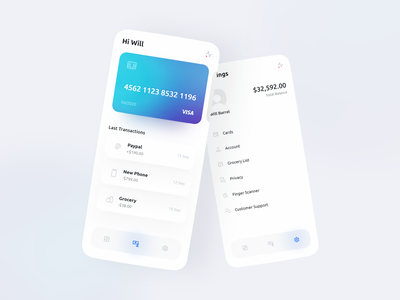 Wallet App daily inspiration dailyui user interface user experience mobile app design mobile ui mobile app app design application app financial app finance app wallet app ux inspiration ui inspiration ux design ui design uiux ux