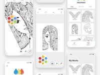 ProPaint - Coloring Book App