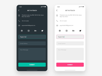 Daily UI - #028 Contact