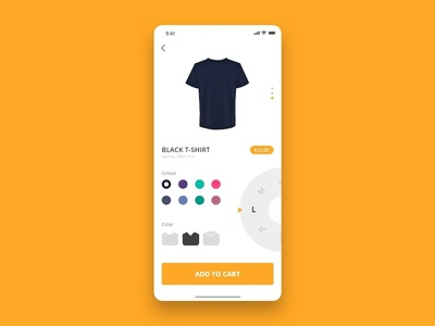 Daily UI - #033 Customize Product