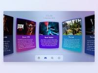 Daily UI - #073 Virtual Reality