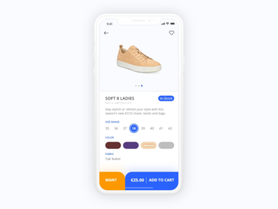 Daily UI - #096 In-Stock