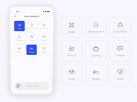 Daily UI - #099 Category