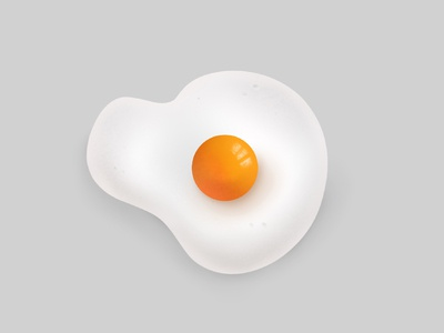 Egg Yolk Illustration