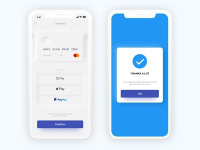 002 Checkout - Daily UI Round 2