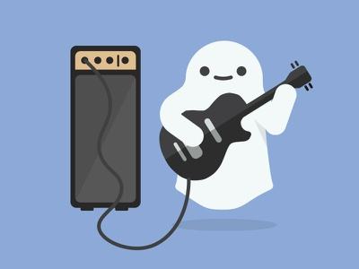 Word Of The Day poltergeist rock music amp guitar ghost word of the day