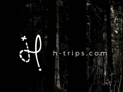 H - Trips logo design for travel agency