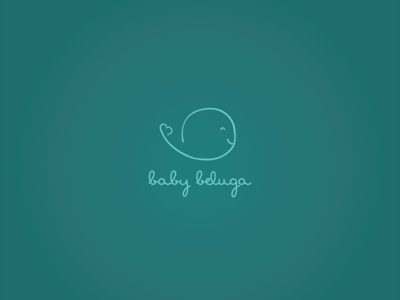 Logo design for Baby Baluga