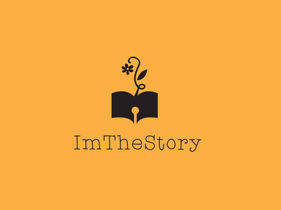 Im the story logo design