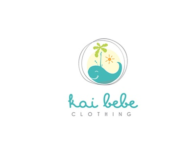 Logo design for kids clothing // Kai Bebe