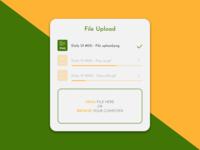 Daily UI 031 - File Upload