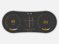 Daily UI 034 - Car Interface