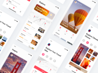 Trip Plan App Concept Page
