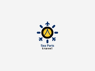 Logo Design for A Traveling Agency typography minimal worldwide holiday tour travel logo