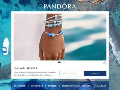 Pandora - Shopping Subscription Modal