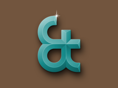 Ampersand ligature typography ampersand