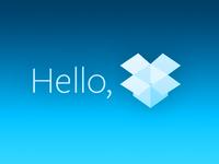 Hello, Dropbox