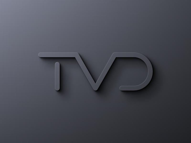 TVD logo tvd brand