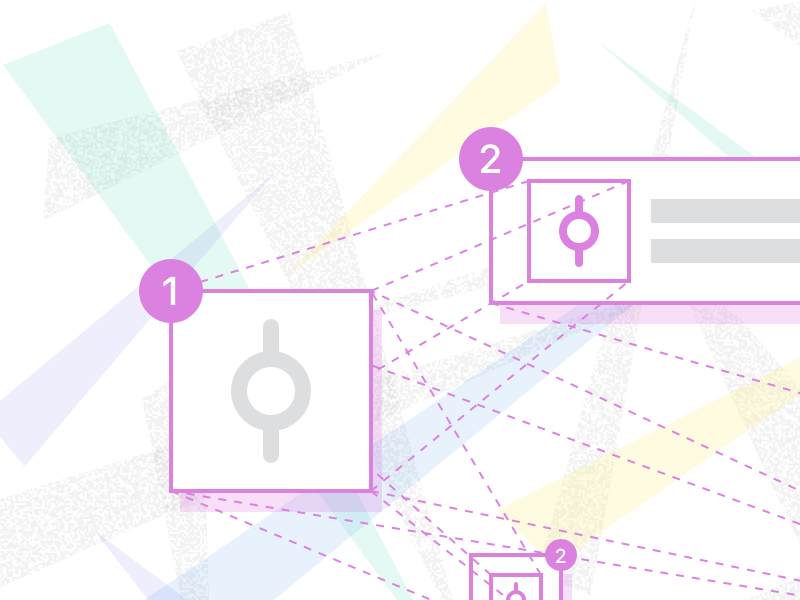 Sketch Component Workflow Illustration abstract components sketch illustration
