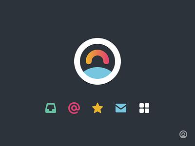 Turbo logo + iconography iconography logo