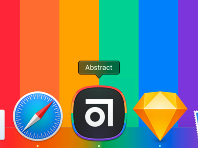 Abstract Pride Icon 🏳️‍🌈 macos icon pride abstract