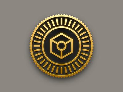 Design Tokens Branding coin logo branding designtokens