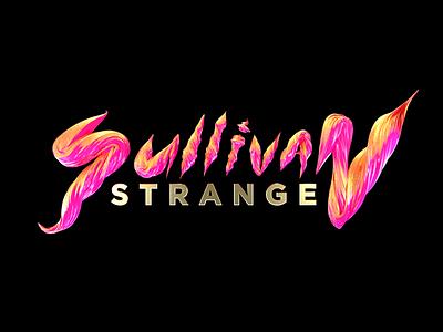 Sullivan Strange typography c4d 3d