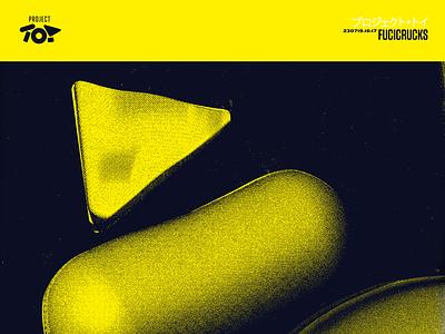 Project Toy - Fucicrucks design poster 3d illustration