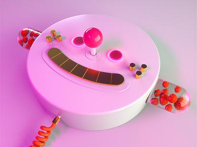 GIDDY MIDI character c4d 3d