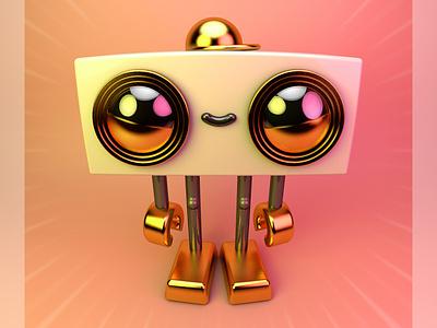 goldboi character c4d 3d