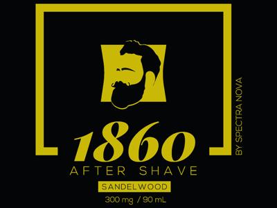 1860 by Spectra Nova logo branding