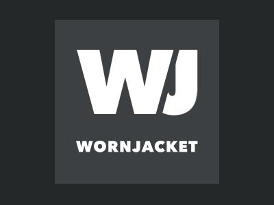 WornJacket logo logodesign branding