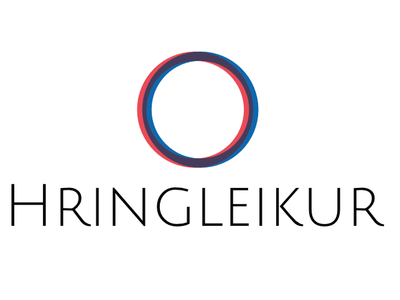 Hringleikur design logo
