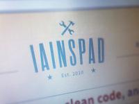 iainspad is finally done!
