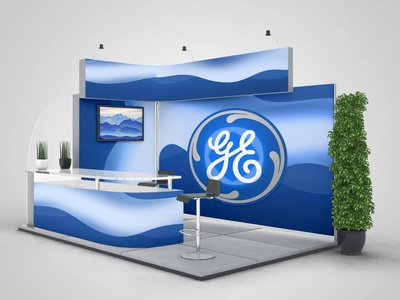 General Electric new booth design concept