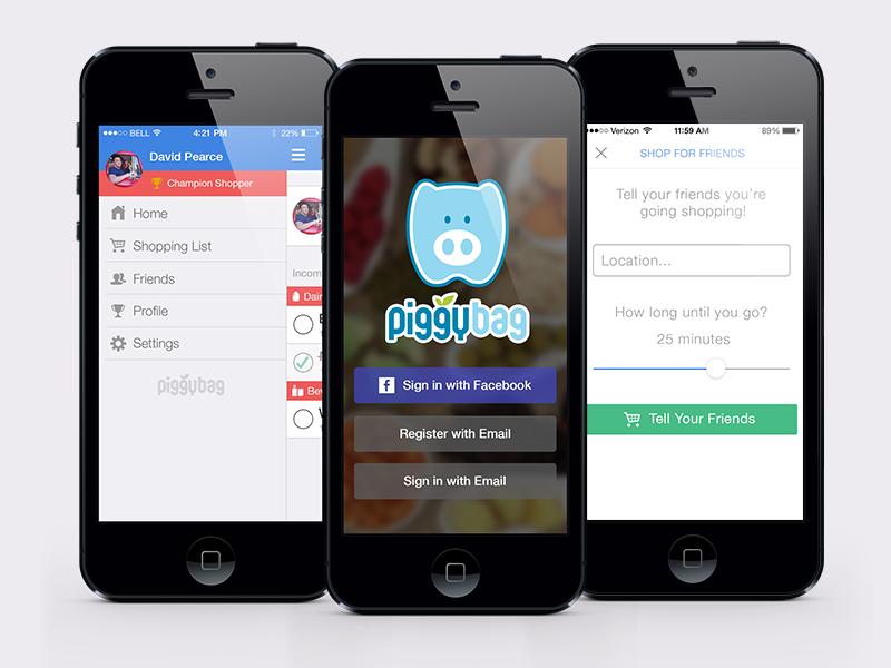 PiggyBag iOS ios