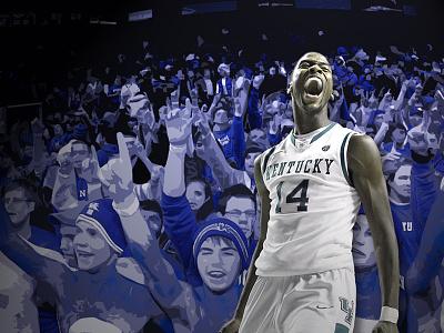 Kentucky Kidd-Gilchrist Background wallpaper background graphic design digital design photoshop