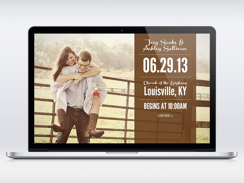 Wedding Website wedding website web design interaction design single page css3 html5 image background jquery