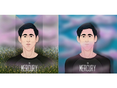 MERCURY design vector illustration