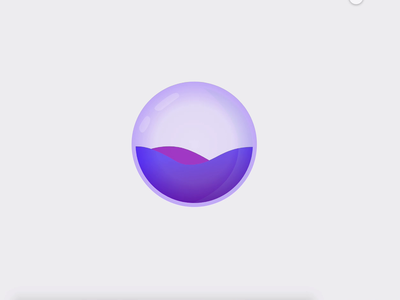 Water Droplet Animation in XD - Freebie adobexd freebie xd freelancer animated dailyui freebies xd autoanimate wave water water drop droplet motion design animation product design illustraion