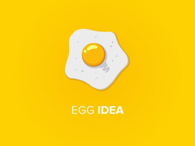 Illustration - Egg Idea illustration art logo illustraion