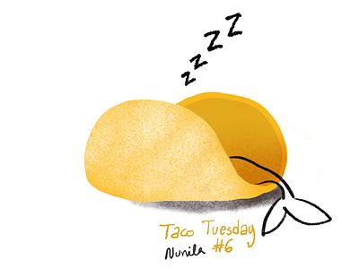 Taco Tuesday illustration tacotuesday mermay